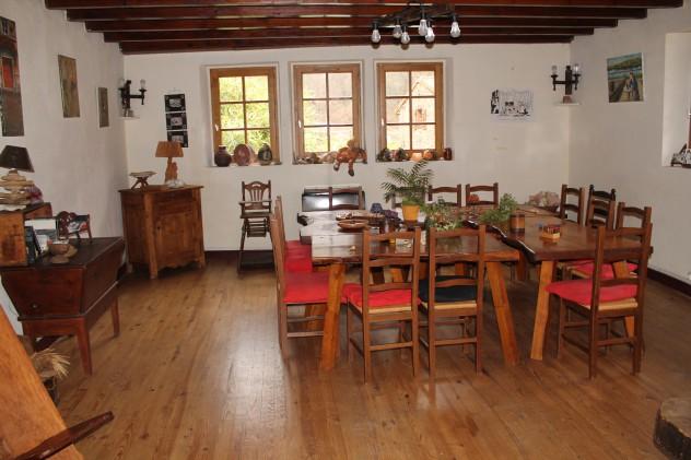 salle à manger du Civadoux